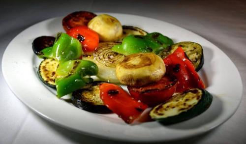 Parrillada de verduras de temporada